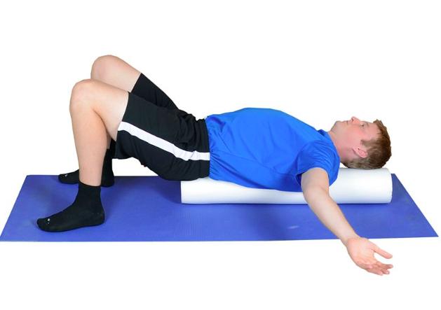 Foam Roller Exercises - Pec Stretch